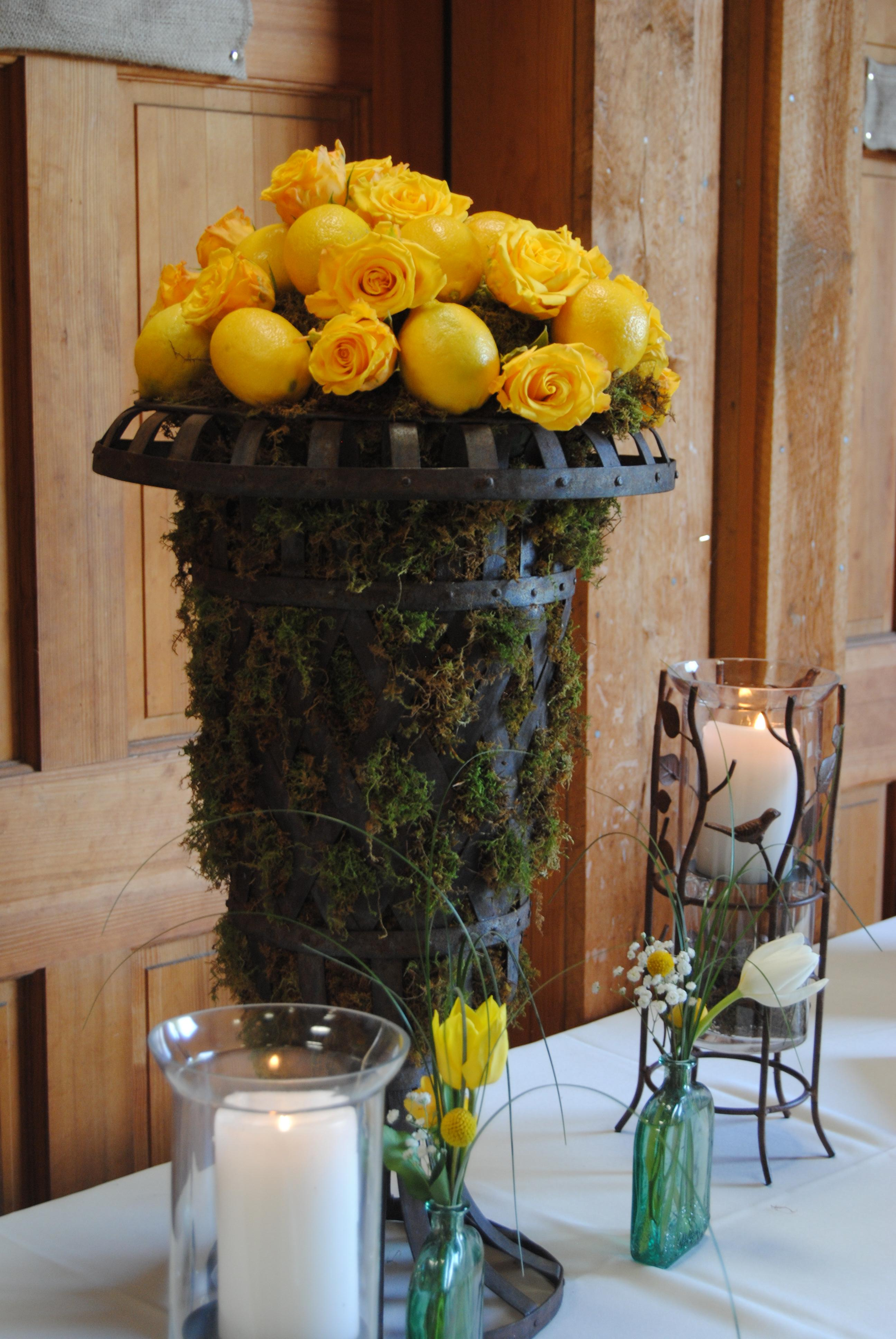 Fun Casual Wedding Reception On The Farm Branching Out Event Florist