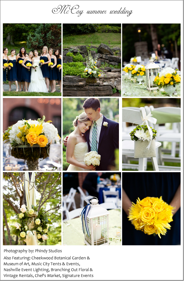 Garden Wedding at Cheekwood With a Vintage Touch
