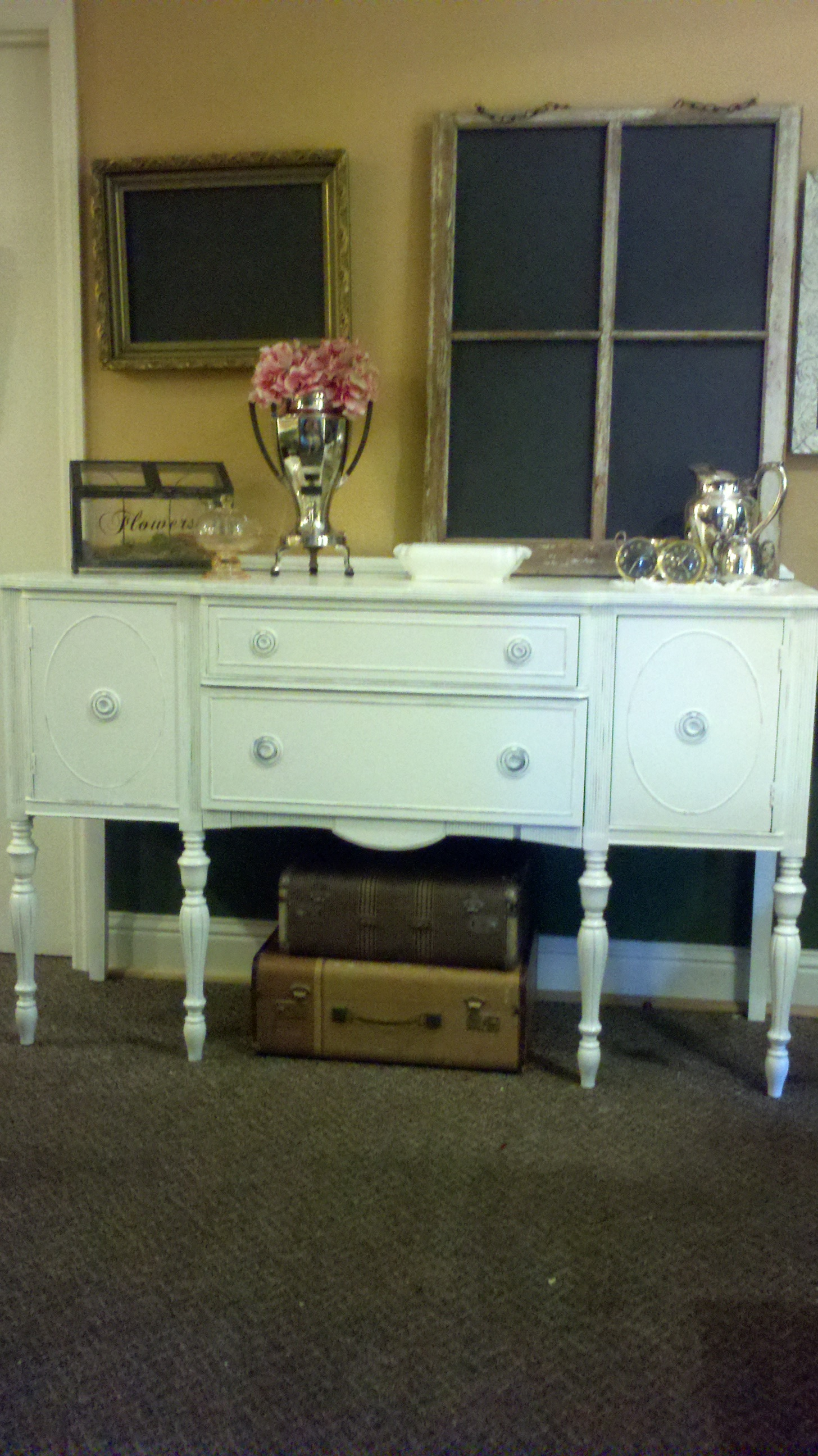 latest vintage furniture painting project branching out event florist. Black Bedroom Furniture Sets. Home Design Ideas