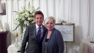 "Randy Fenoli and Vicki Sanders at filming of ""Randy to the Rescue/Nashville"""