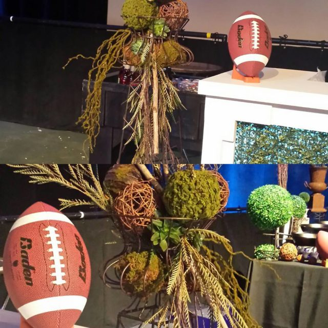 Branching Out honored to design decor for American Football Coacheshellip