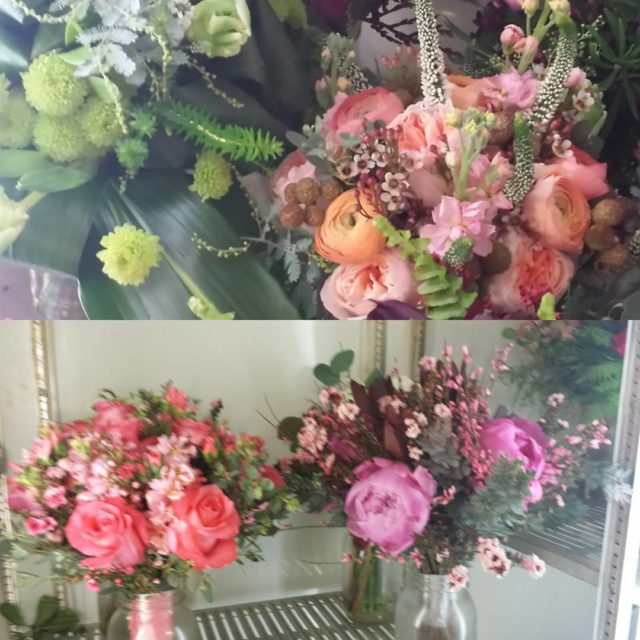 A few of the lovely bouquets that will be inhellip